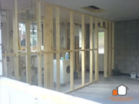 Partition Wall Goes In